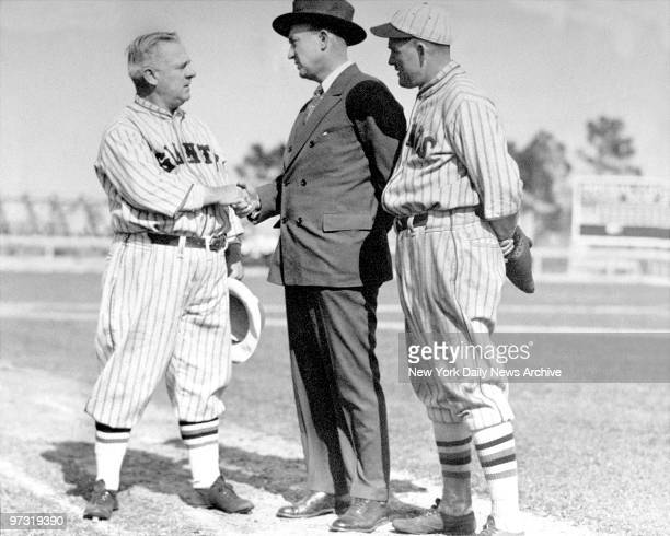 Ty Cobb John McGraw and Roger Hornsby