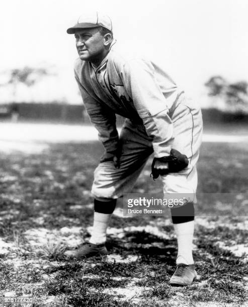 Ty Cobb of the Philadelphia Athletics poses for a portrait prior to an MLB Spring Training game circa March 1927 in Fort Myers Florida