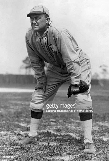 UNDATED Ty Cobb of the Philadelphia Athletics stands at center field during a game Ty Cobb played for the Philadelphia Athletics from 19271928