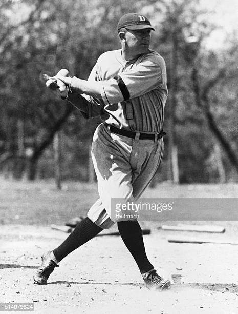 Ty Cobb one of baseball's greatest base runners died July 17 1961 at Emory University Hospital in Atlanta Cobb who was 74 years old is shown in this...