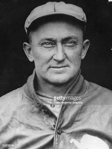 Ty Cobb outfielder for the Philadelphia Athletics poses for a portrait in 1927