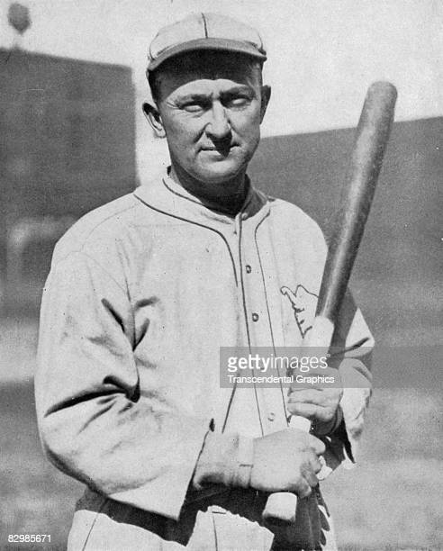 Ty Cobb outfielder for the Philadelphia Athletics poses for a photo before a game in Philly in 1927