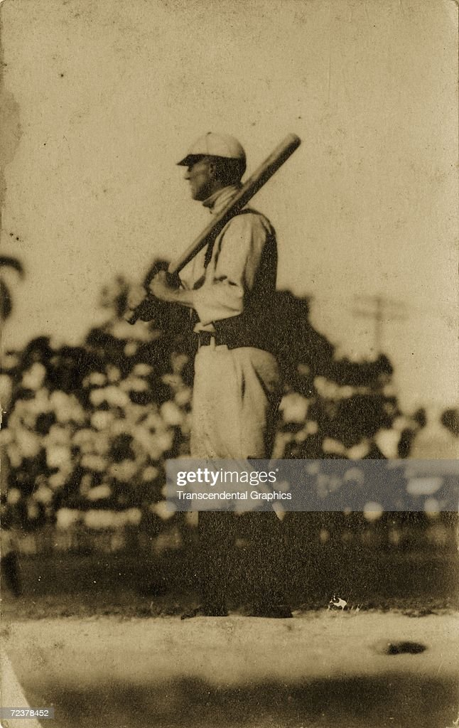 HAVANA - NOVEMBER, 1910. Ty Cobb poses for a portrait in Almendares Park in Havana, Cuba during an exhibition game on a barnstorming tour by the Detroit Tigers in November of 1910.
