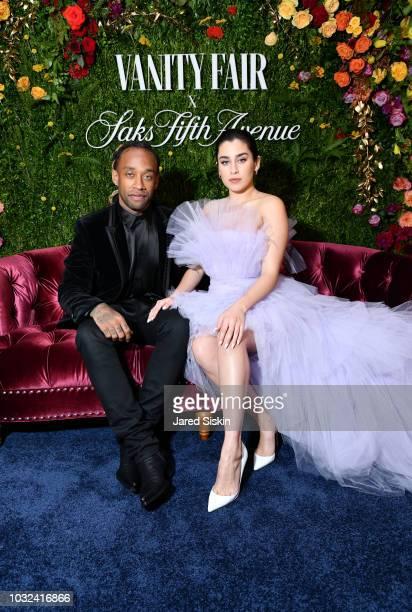 Ty Dolla $ign and Lauren Jauregui attend as Vanity Fair and Saks Fifth Avenue celebrate Vanity Fair's BestDressed 2018 at Manhatta on September 12...