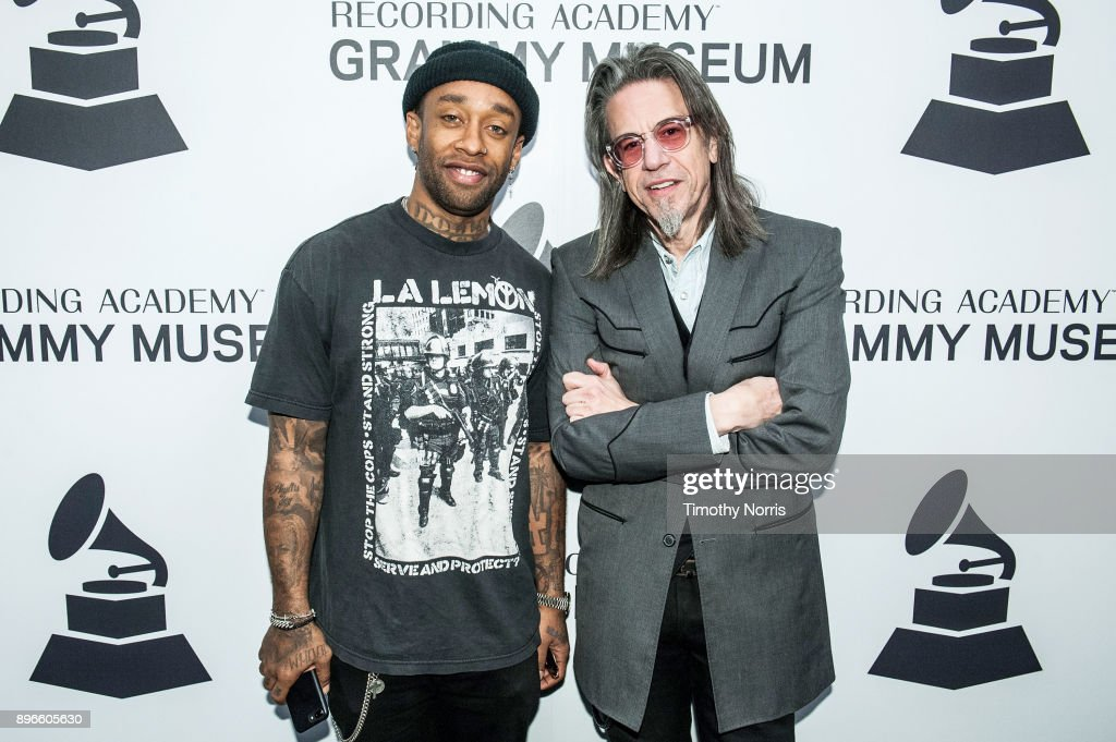Ty Dolla $ign and Scott Goldman attend The Drop: Ty Dolla $ign at Grammy Museum on December 20, 2017 in Los Angeles, California.