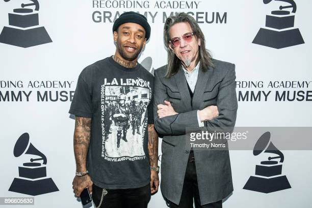 Ty Dolla $ign and Scott Goldman attend The Drop Ty Dolla $ign at Grammy Museum on December 20 2017 in Los Angeles California