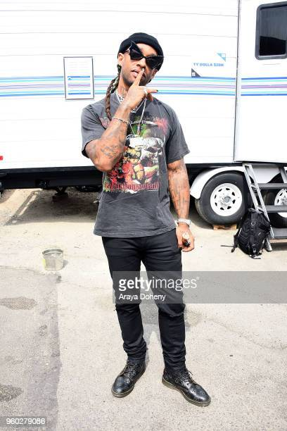 Ty Dolla $ign attends the WE RISE Rally on May 19 2018 in Los Angeles California