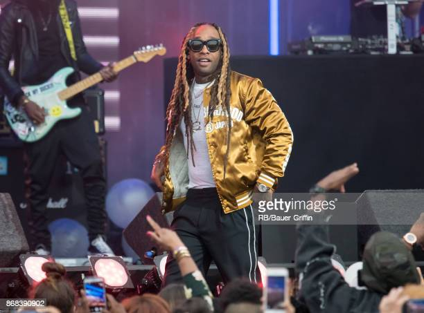 Ty Dolla $ign is seen at 'Jimmy Kimmel Live' on October 30 2017 in Los Angeles California