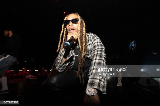 Ty Dolla $ign performs at the 2018 ComplexConDay 1 at Long Beach Convention Center on November 3 2018 in Long Beach California