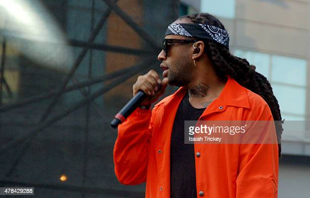 Ty Dolla $ign performs at the North By Northeast Music Festival at Yonge Dundas Square on June 21 2015 in Toronto Canada