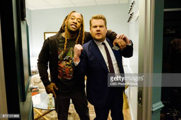 Ty Dolla $ign performs during 'The Late Late Show with James Corden' Wednesday November 1 2017 On The CBS Television Network