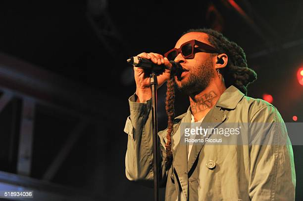 Ty Dolla $ign performs on stage at Garage on April 3 2016 in Glasgow Scotland