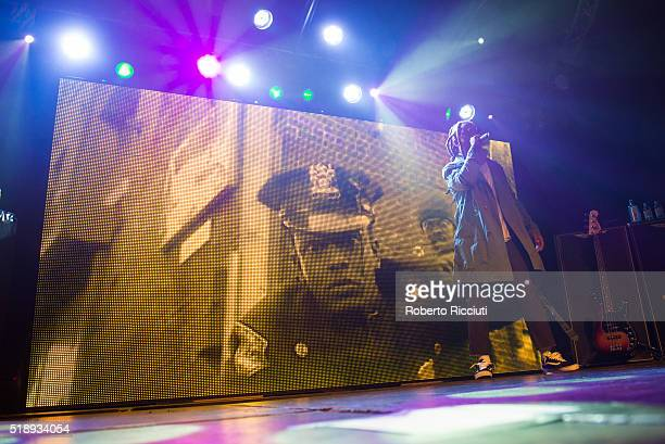 Ty Dolla $ign performs on stage at Garage on April 3, 2016 in Glasgow, Scotland.