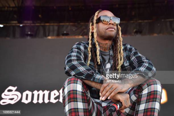 Ty Dolla $ign performs on the Rock Stage during day 1 of Grandoozy on September 14 2018 in Denver Colorado