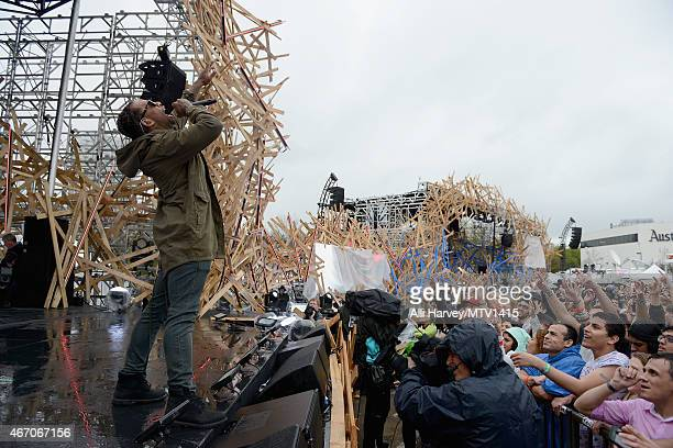 Ty Dolla $ign performs onstage at the 2015 MTV Woodies Festival on March 20 2015 in Austin Texas