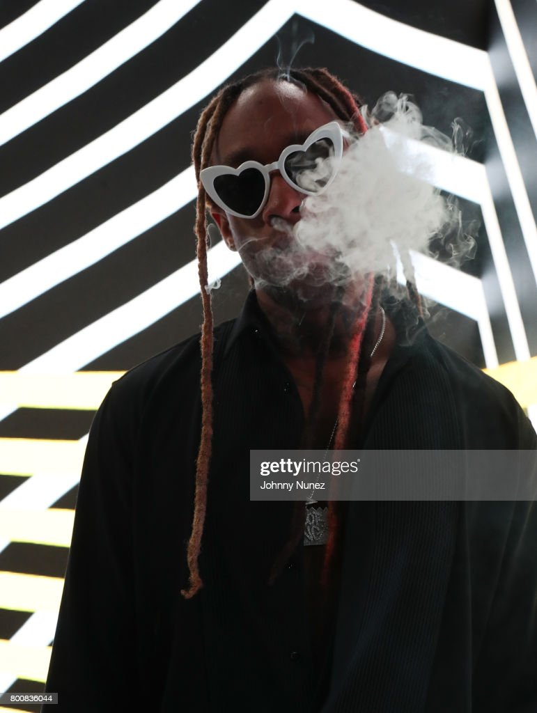 Ty Dolla Sign at the InstaBooth at the 2017 BET Awards at Microsoft Square on June 25, 2017 in Los Angeles, California.