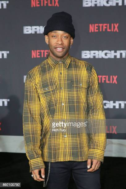 Ty Dolla Sign attends the LA Premiere of Netflix Films 'BRIGHT' on December 13 2017 in Los Angeles California