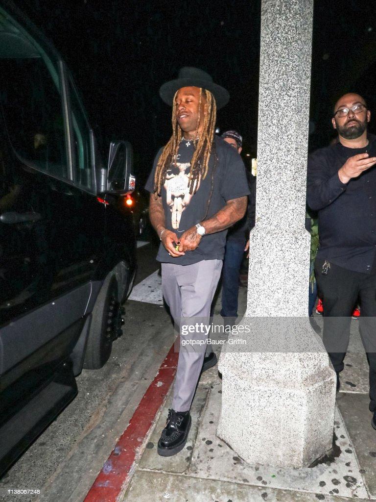 CA: Celebrity Sightings In Los Angeles - April 19, 2019