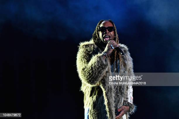 Ty Dolla Sign performs onstage the 2018 American Music Awards at Microsoft Theater on October 9 2018 in Los Angeles California