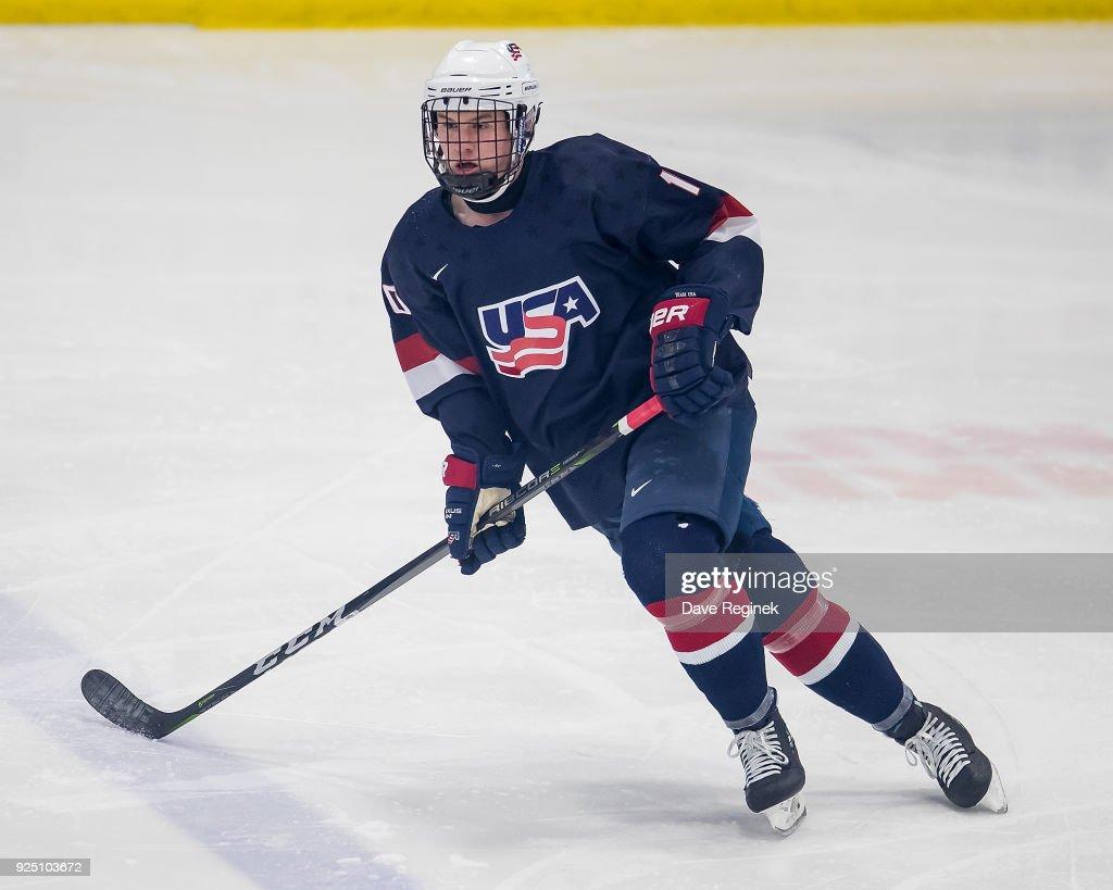 2018 Under-18 Five Nations Tournament - Czech Republic v USA : News Photo