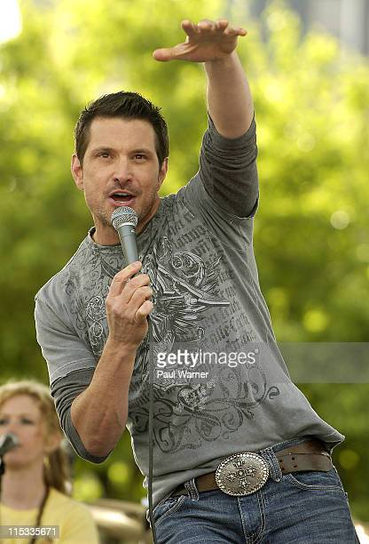 Ty Herndon during 25th Annual Downtown Hoedown Sponsored by Country 995 WYCD Day 3 at Hart Plaza in Detroit Michigan United States