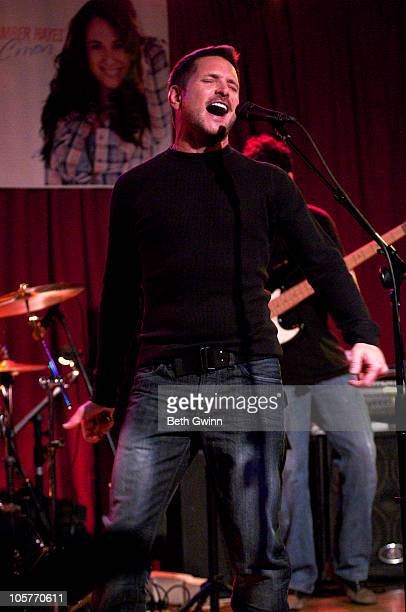 Ty Herndon perform at Mercy Lounge on October 19 2010 in Nashville Tennessee