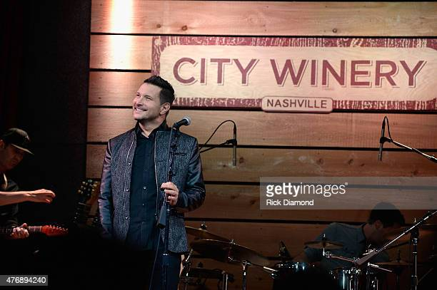 Ty Herndon performs onstage at The Concert For Love And Acceptance at City Winery Nashville on June 12 2015 in Nashville Tennessee