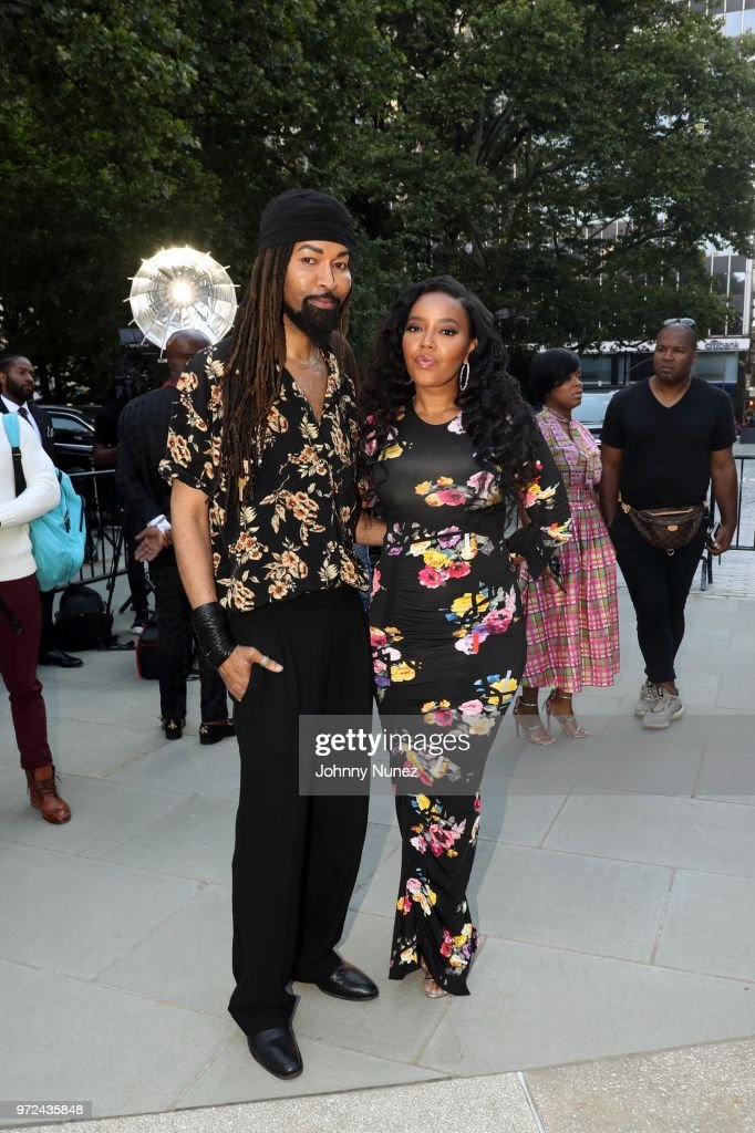 Ty Hunter (L) and Angela Simmons attend the 3rd Annual Influence Awards at City Hall on June 11, 2018 in New York City.