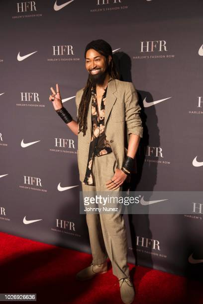 Ty Hunter attends Harlem's Fashion Row on September 4, 2018 in New York City.