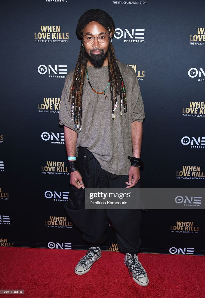 Ty Hunter attends the 'When Love Kills: The Falicia Blakely Story' New York Premiere at AMC Empire 25 theater on August 15, 2017 in New York City.