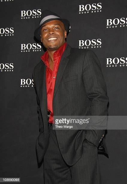 Ty Jones at the BOSS Black Spring 2008 Fashion Show at the Cunard Building in New York City on October 17, 2007