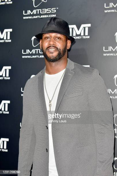Ty Law, former NFL player attends Futuristic-themed Birthday Party for 50 time Champion Boxer Floyd Mayweather 44th Birthday Extravaganza at The...