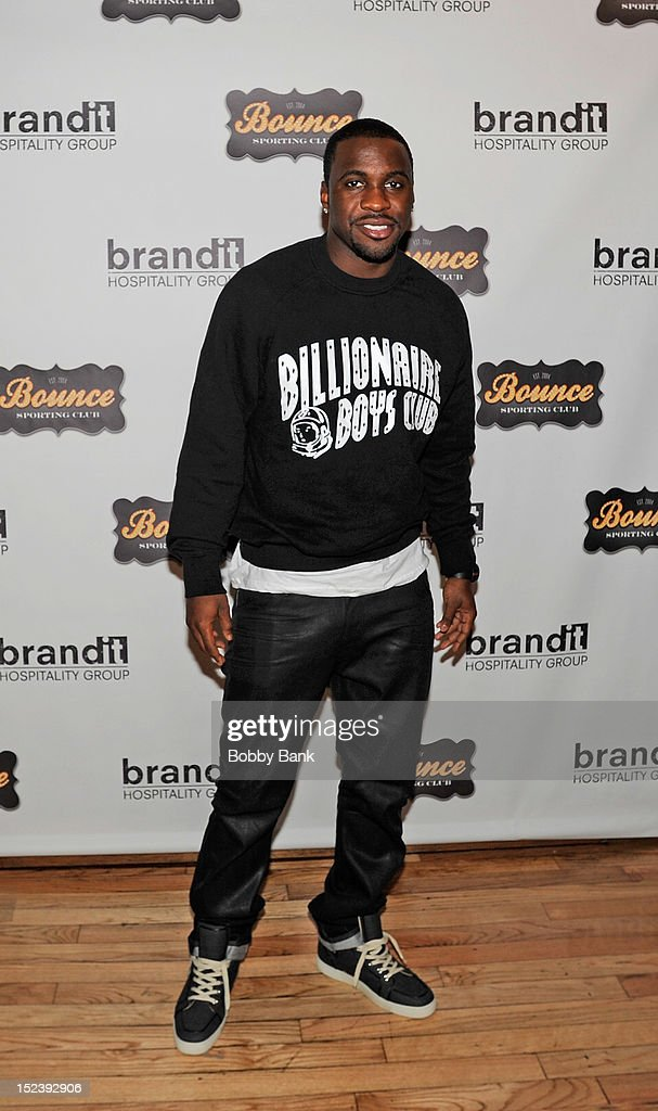 Ty Lawson attends the 1 year anniversary party at Bounce Sporting Club on September 19, 2012 in New York City.