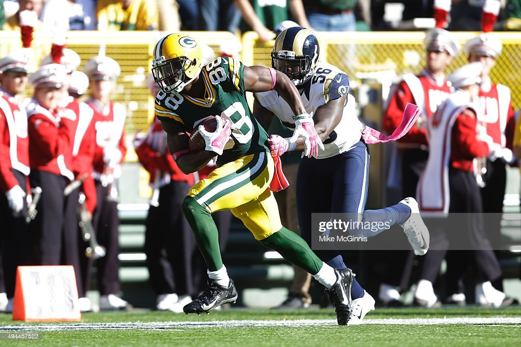 St. Louis Rams v Green Bay Packers : News Photo