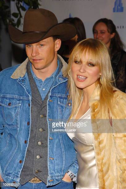 Ty Murray and Jewel during Grand Opening Celebration of Time Warner Center at Time Warner Center in New York City, New York, United States.