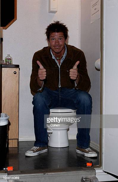 Ty Pennington during Cyndi Thomson Video Shoot in Los Angeles California United States