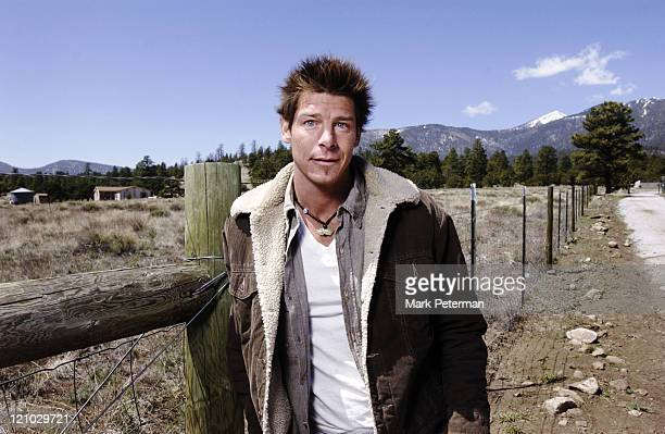 Ty Pennington host during ABC Extreme Makeover Home Edition Featuring Jessica Lynch April 19 2005 at Piestewa Residence in Flagstaff Arizona United...
