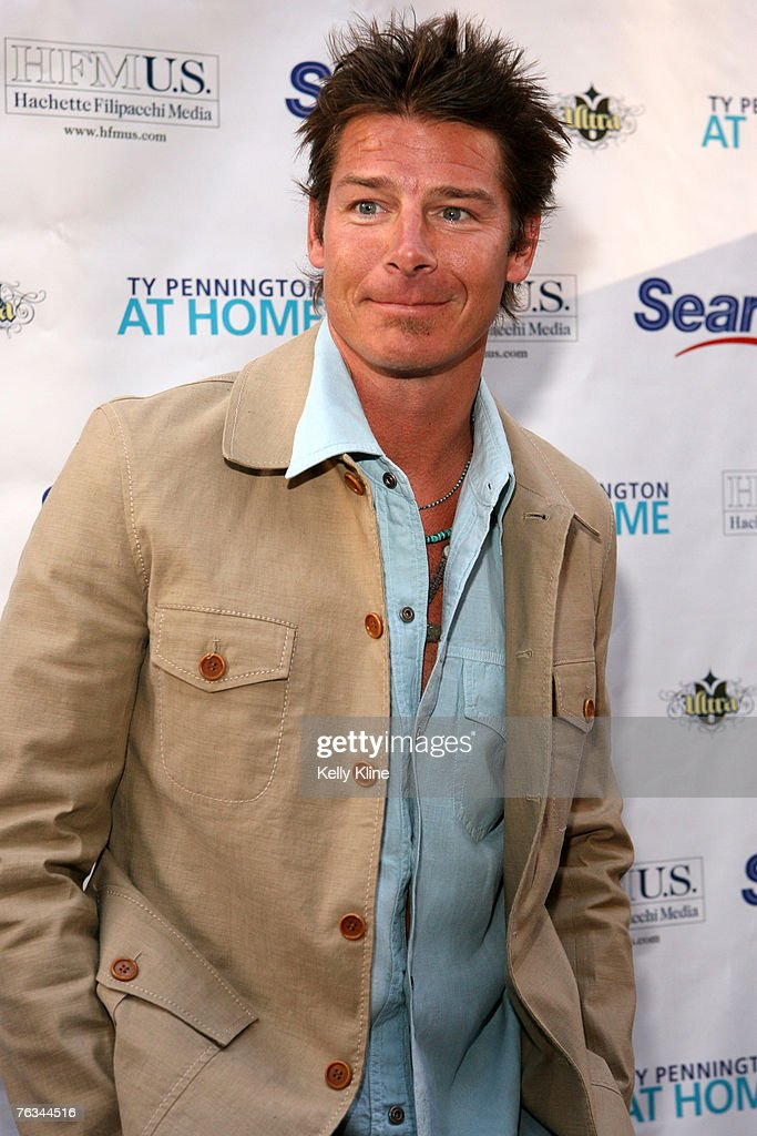 "Ty Pennington Launches ""Ty Pennington At Home"" Magazine : News Photo"