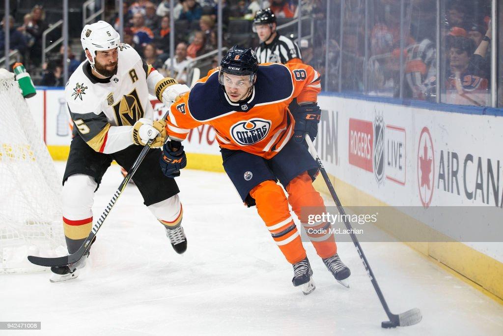 Vegas Golden Knights v Edmonton Oilers : News Photo