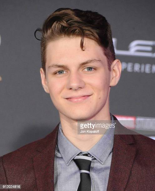 Last Night Was The Black Panther Premiere And It Was: Ty Simpkins Stock Photos And Pictures