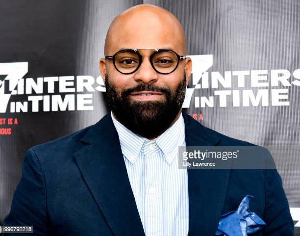 Ty Walker arrives at the '7 Splinters In Time' Premiere at Laemmle Music Hall on July 11 2018 in Beverly Hills California