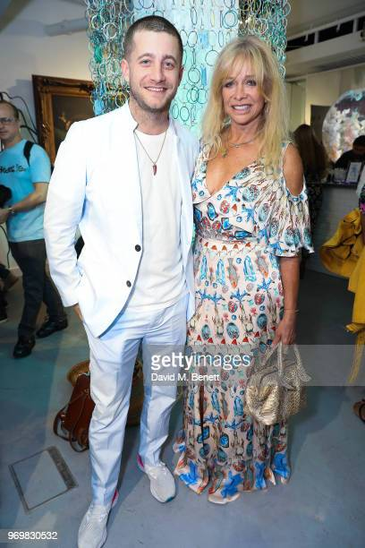 Ty Wood and Jo Wood attend the launch of Sky Ocean Rescue's 'Pass On Plastic Experience' on June 8 2018 in London England