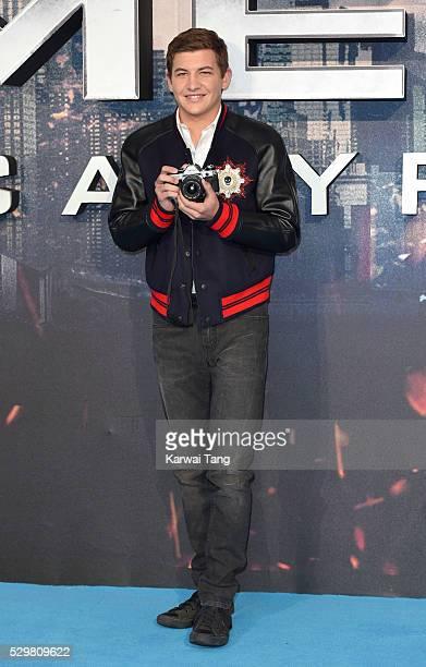 Tye Sheridan attends a Global Fan Screening of 'XMen Apocalypse' at BFI IMAX on May 9 2016 in London England