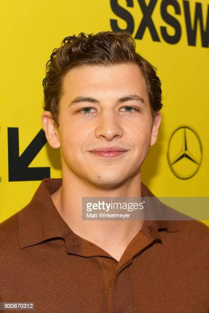 Tye Sheridan attends 'Ready Player One' Premiere 2018 SXSW Conference and Festivals at Paramount Theatre on March 11 2018 in Austin Texas