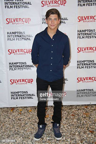 Tye Sheridan attends the Chairman's Reception at the Suna Residence on October 11 2014 in East Hampton New York