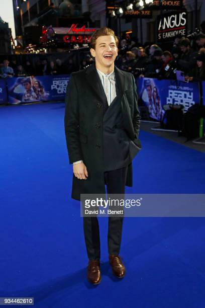 Tye Sheridan attends the European Premiere of 'Ready Player One' at the Vue West End on March 19 2018 in London England