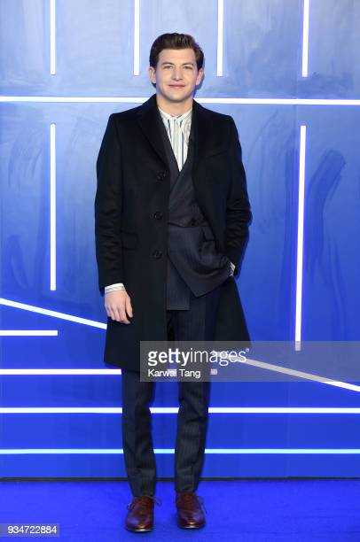 Tye Sheridan attends the European Premiere of 'Ready Player One' at Vue West End on March 19 2018 in London England