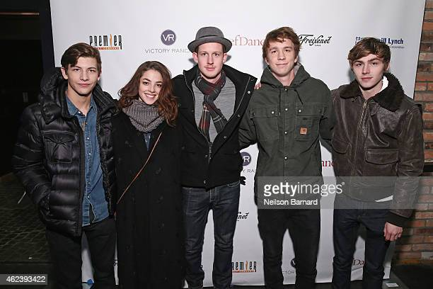 Tye Sheridan Olivia Thirlby Chris Sheffield Thomas Mann and Miles Heizer attend ChefDance 2015 presented by Victory Ranch and sponsored by Merrill...