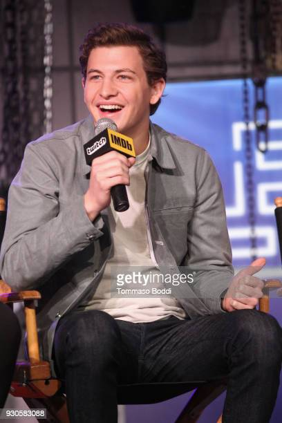 Tye Sheridan speaks onstage during Ready Player One LIVE at SXSW Powered by Twitch and IMDb on March 11 2018 in Austin Texas