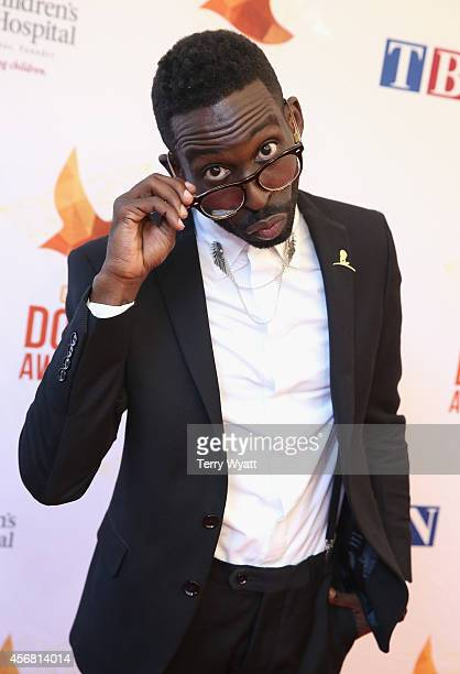 Tye Tribbett arrives at the 45th Annual Dove Awards at Allen Arena, Lipscomb University on October 7, 2014 in Nashville, Tennessee.